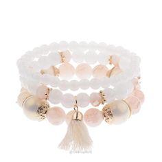 Amanda Charms Beads Bracelet