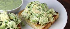 Foto - Receita de salada de abacate com frango