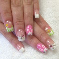 easter nail art | Easter nail art