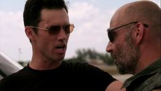 "Burn Notice 5x08 ""Hard Out"" - Michael Westen (Jeffrey Donovan) & Miles Vanderwaal (David Dayan Fisher)"