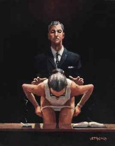 Jack Vettriano - A Sinister Turn of Emotion