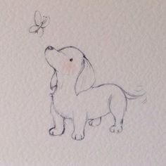 Puppy collection Dachshund by LittleCupCreations on Etsy