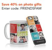 Shutterfly Coupons - 40% and Free Shipping Codes