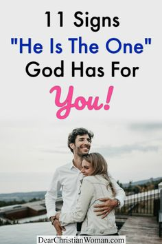 Are you dating the right guy? Is your Christian boyfriend your soulmate and the man you are going to marry? Here are 11 signs he is the one God has for you. #godlydating #christianadvice #godlyrelationship #relationshipadvice #inlove #courting #fiance #boyfriendadvice #christiangirl