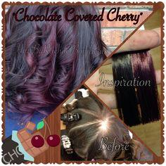 ... Chocolate Cherry Hair Color, Cherry Chocolate Hair Color, Chocolate