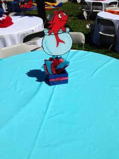 Dr Seuss Cat in the Hat Baby Shower Party Ideas | Photo 2 of 9 | Catch My Party