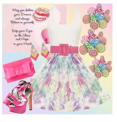 """Pink Pop"" by lilysue ❤ liked on Polyvore"