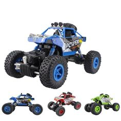 RC Car 2.4G 4CH 4WD Rock Crawlers Car Double Motors Drive Bigfoot Vehicle Toys