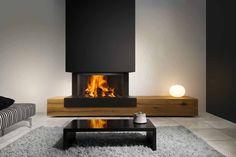Kal-fire Heat Pure 90 3-zijdig gesloten houthaard - Product in beeld - - Startpagina voor sfeerverwarmnings ideeën | UW-haard.nl