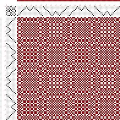 draft image: Threading Draft from Divisional Profile, Tieup: A Handbook of Weaves by G. H. Oelsner, Draft #44272, 8S, 8T