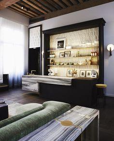 "Le ""salon-cuisine sculptural"" de Charles Zana"