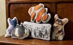 Decoupage - DIY Mod Podge Photo Transfer Pet Pillows