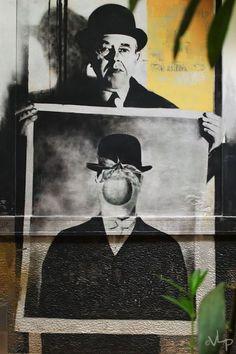 Street Art - Athens Greece - VLP - Velvet Lies Productions #Αθήνα #Graffiti #Pentax #Exarcheia #PinStreetArt #RawTherapee #Athens #Ελλάδα #PentaxK500 #Greece #StreetArt #Εξάρχεια #ReneMargritte