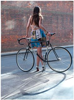 Colnago way cool, Dress by Busyman Bicycles.