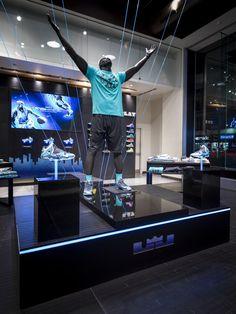 Nike Lebron XI Blue Gamma Retail Strategy by Brian Madden, via Behance