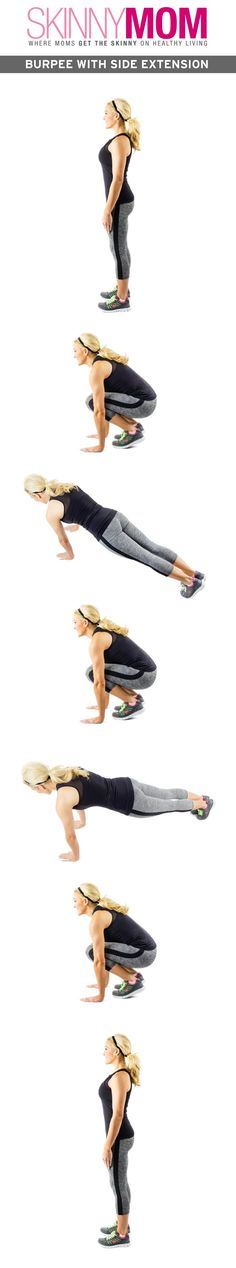 These burpees are NO JOKE!