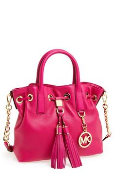 A Michael Kors satchel with tassels? Yes please!