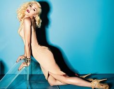 Gwen Stefani in Elle UK