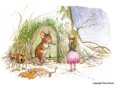 Portfolio - Petra Brown, Children's Book Illustrator 'Thumbelina'