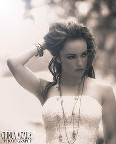 Model: Lannette D  Photo By: Chinga Moalusi
