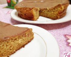 Bolo com Cobertura de Chocolate Dukan Fabíola Bianco: Receitas Dukan