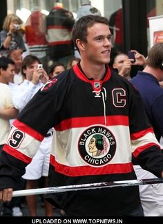 Jonathan Toews. Can we date? I've had you on my fantasy hockey team for two years, and IN my fantasies, as long as I can remember...