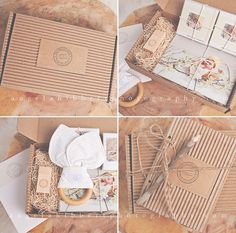 Packaging and Presentation Ideas for Photographers // Pretty Little Packaging :: Resources and Inspiration