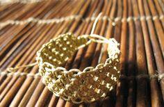 thick hemp bracelet,hand knotted bracelet,macrame jewelry
