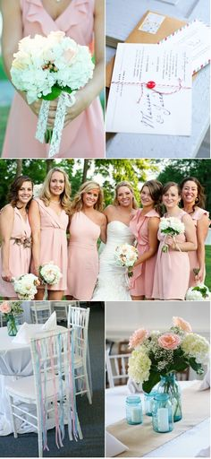 Almost the color pink I want for Bridesmaid dresses! So pretty