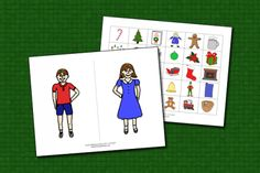 Christmas Theme Pronouns and Possessives with Boy and Girl From Speech Therapy Ideas. Pinned by SOS Inc. Resources. Follow all our boards at pinterest.com/sostherapy/ for therapy resources.