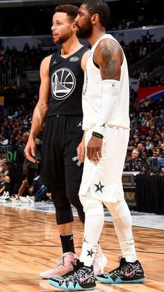 c973dd39da2 Kyrie Irving and Stephen Curry All-Star Wallpaper  NBA
