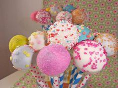 Geheime Rezepte: Vanille Cake Pops (ca. 40 Stück)