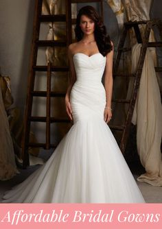 5 affordable bridal gown designers!