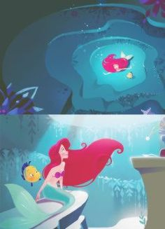 Images From the Little Mermaids | Via Obie Harlander