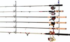 RACK EM Racks Horizontal 6-Rod Fishing Rod Rack - Free Shipping & Return Shipping - Shoebuy.com