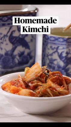 Asian Noodle Recipes, Asian Recipes, Healthy Recipes, Asian Appetizers, Kimchi Recipe, International Recipes, Diy Food, Food Inspiration, Food Porn