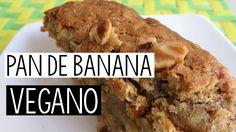 Pan de banana saludable, rico y vegano-Sin huevos ni lácteos    ItsMariana - YouTube