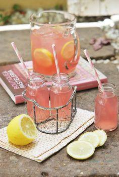Sabores de colores: Limonada rosa