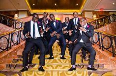 Classic Purple and Gold Multicultural Wedding in Atlanta Wedding Groom, Wedding Pics, Dream Wedding, Wedding Ideas, Wedding Stuff, Black People Weddings, Purple And Gold Wedding, African American Brides, Multicultural Wedding
