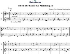 Anonymus, ....: When The Saints Go Marching In - Recorder 3