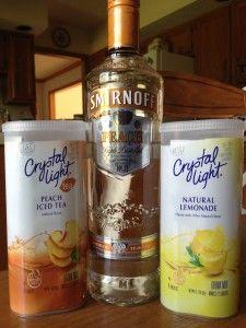 Skinny Summer Cocktails. Skinny Alcoholic DrinksPeach ...