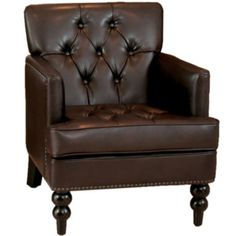 Mikaella Bonded Leather Club Chair  found at @JCPenney
