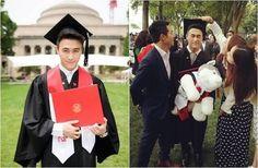 賭王何鴻燊之子何猷君過去上新聞版面多和緋聞有關,但這回他從麻省理工學校畢業,媽媽一家人全飛到美國出席,顯見重要性。令人注意的是,21歲的何猷君日前才透露錄取金融碩士課程,成為當系最年輕學生,這回畢業,他更僅花3年就完成學業,連校長都讚嘆。何猷君自小就展現數學天分,被封為是「數學天才」,而後他更考取全球排名數一數二的麻省理工學院(MIT),前天他出席畢業典禮,媽媽、外婆與弟妹等人全到場,他開心在網上分享…