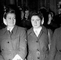 Flemish Waffen-SS frontline nurses.