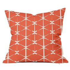 SafiyaJamila Love Triangles Throw Pillow Size: