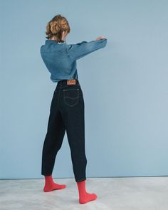 Looks Instagram, Clothing Displays, Fasion, Her Style, Style Icons, Mom Jeans, Denim, Lady, Womens Fashion