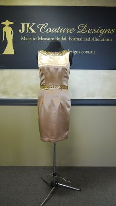 Caitlin  Little Gold Dress by JKCoutureDesigns on Etsy, $599.00