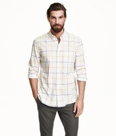 H&M Checked Coton Shirt $29.9