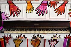 "Piano painted (L.A. Art Project: ""Play Me, I'm Yours"""