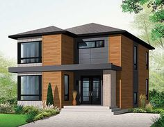 plan 21998dr stately modern modern floor planscontemporary